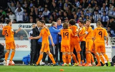 Video Cuplikan Gol Real Sociedad VS Madrid 0-4 6 April