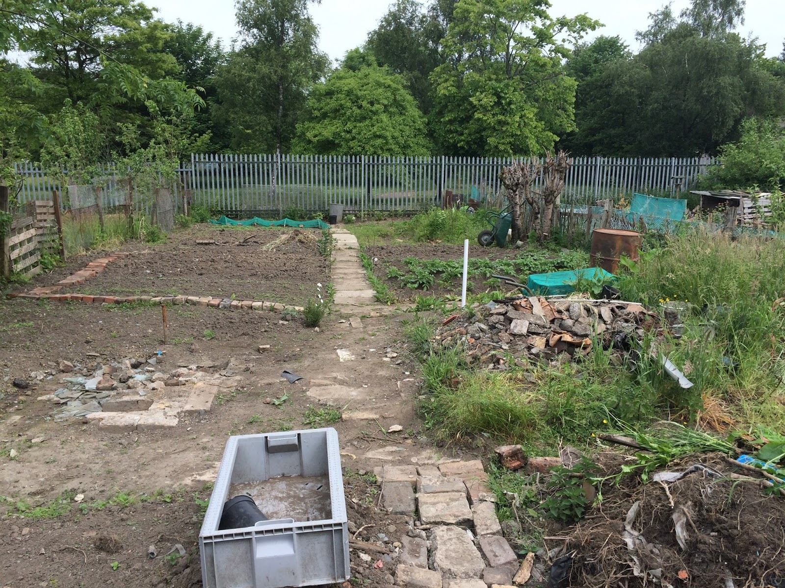 Pig Sty Avenue The New Potting Shed Step 1 Rubble
