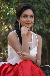 Actress Mahima Nambiar Latest Stills in White Top and Red Skirt at Kuttram 23 Movie Press Meet  0029.jpg