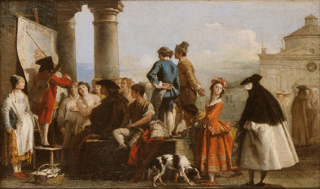 The Storyteller by Giovanni Domenico Tiepolo