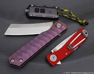 Fura Razor, SOG Twitch II and Nitecore TIP key chain flashlight