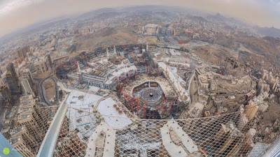Desain Mega Proyek Masjidil Haram 2020