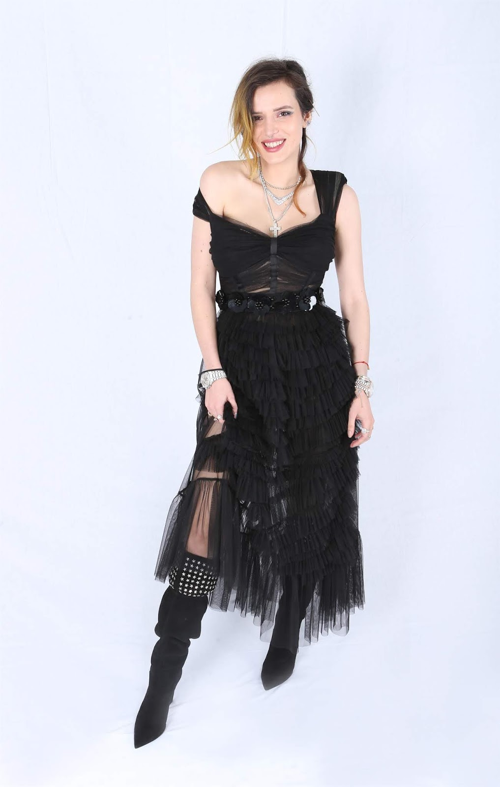 Bella Thorne - Filming Italia Private Portraits in Los Angeles - 01/31/2019