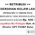 [Informasi] Retribusi Kebersihan Kolam UPT P2SKP Bulu