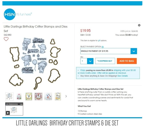 https://www.hsn.com/search?query=little+darling+critter