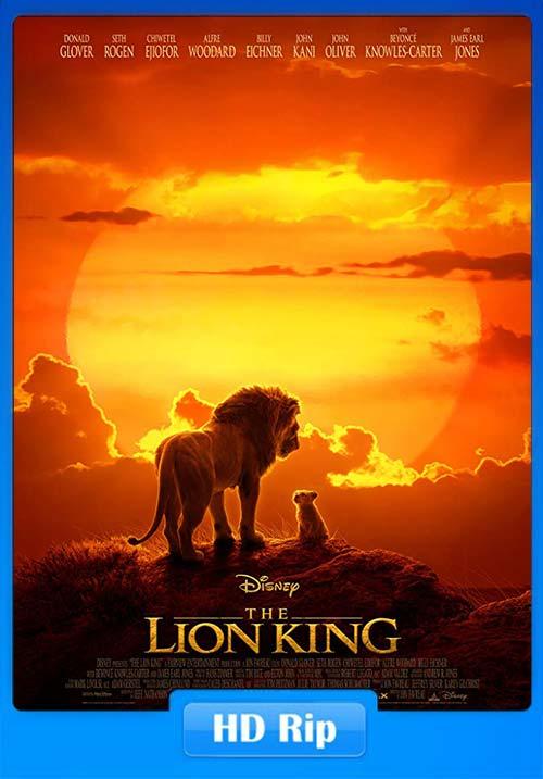 The Lion King 2019 720p BDRip Hindi ESubs x264 | 480p 300MB | 100MB HEVC Poster
