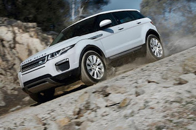 Range Rover Evoque body colored
