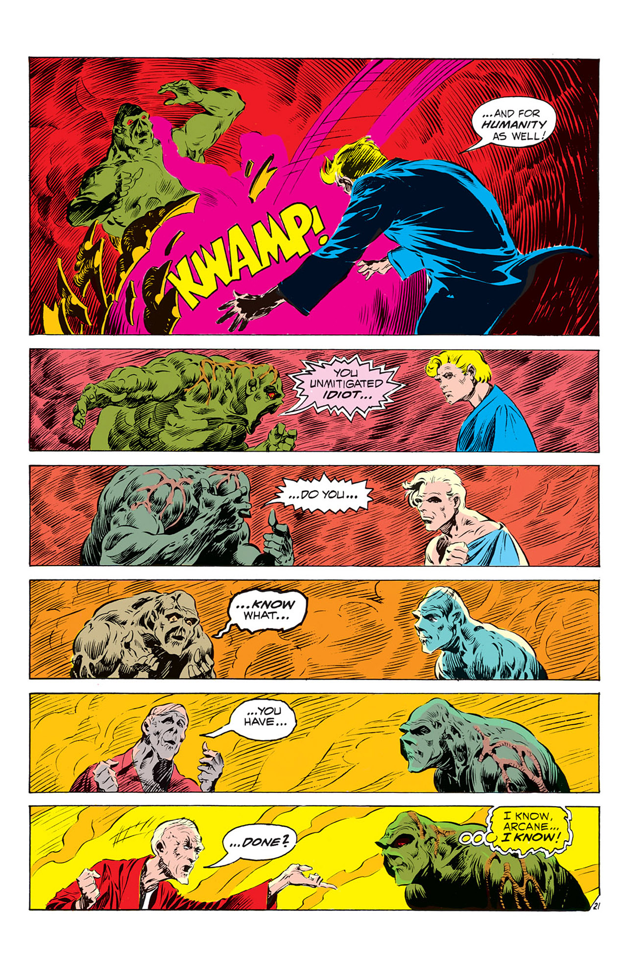 Swamp Thing (1972) Issue #2 #2 - English 22