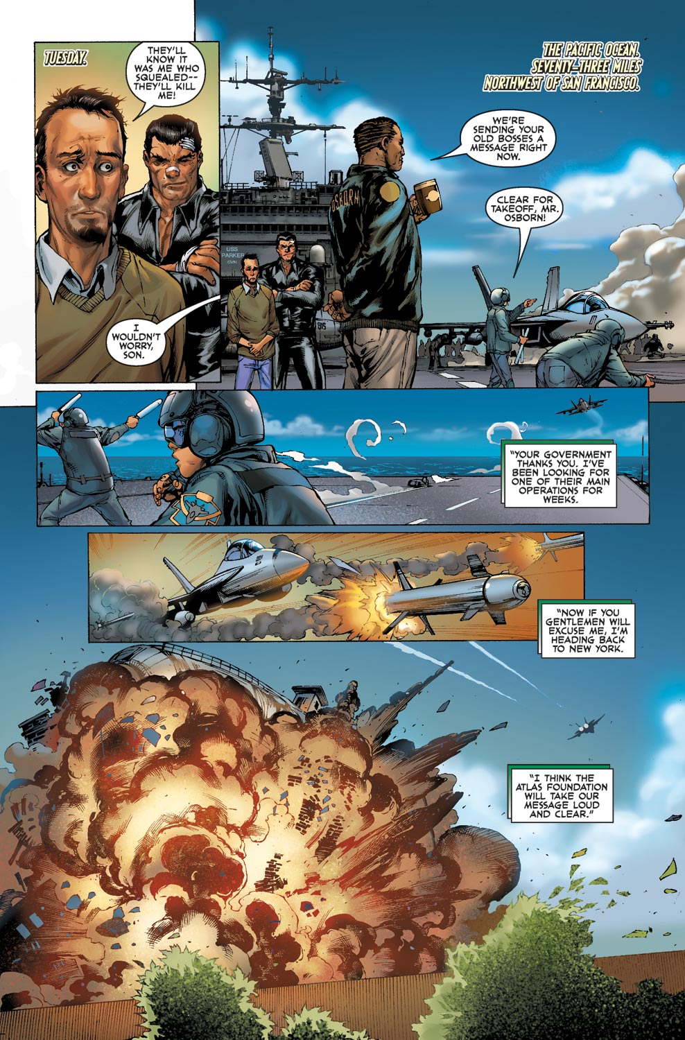 Read online Agents Of Atlas (2009) comic -  Issue #1 - 8