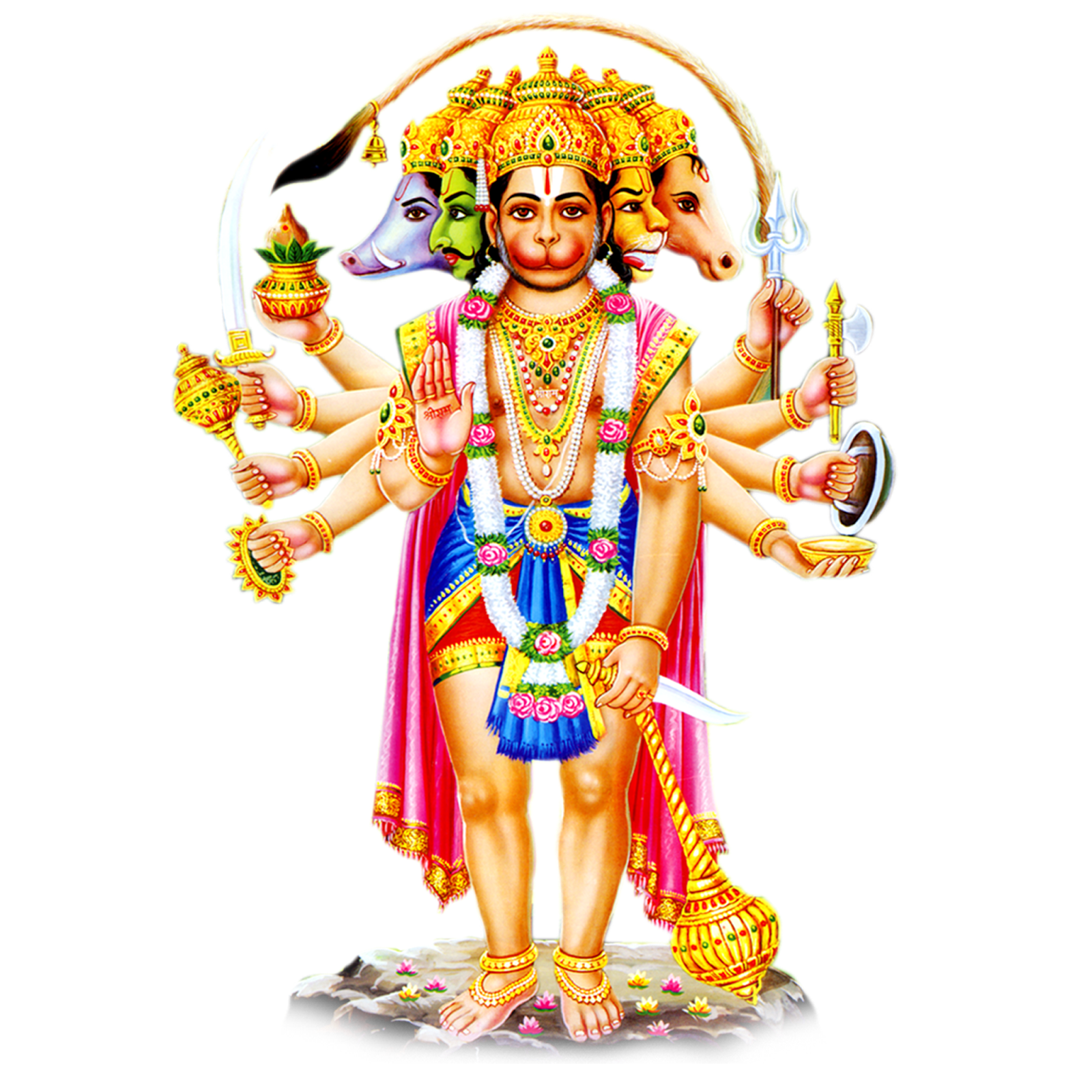 Images have the power to move your emotions like few things in life. panchamukhi hanuman hd png wallpaper free downloads   Ping ...
