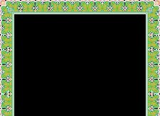 Border Sertifikat hijau Download Desain Gratis