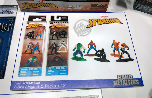 Toy Fair 2019 JADA Spider-Man Nano Metalfigs