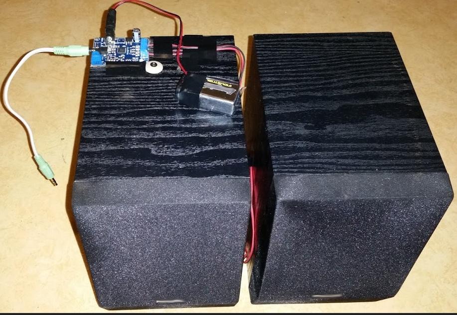Ampli portable fait maison avec le max9744 d 39 adafruit - Maison portable ...