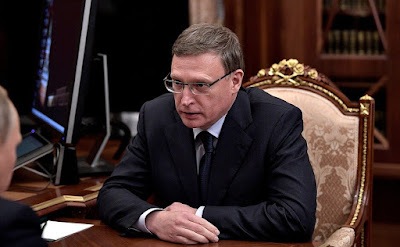 Alexander Burkov in the Kremlin at the meeting with the President of the Russian Federation