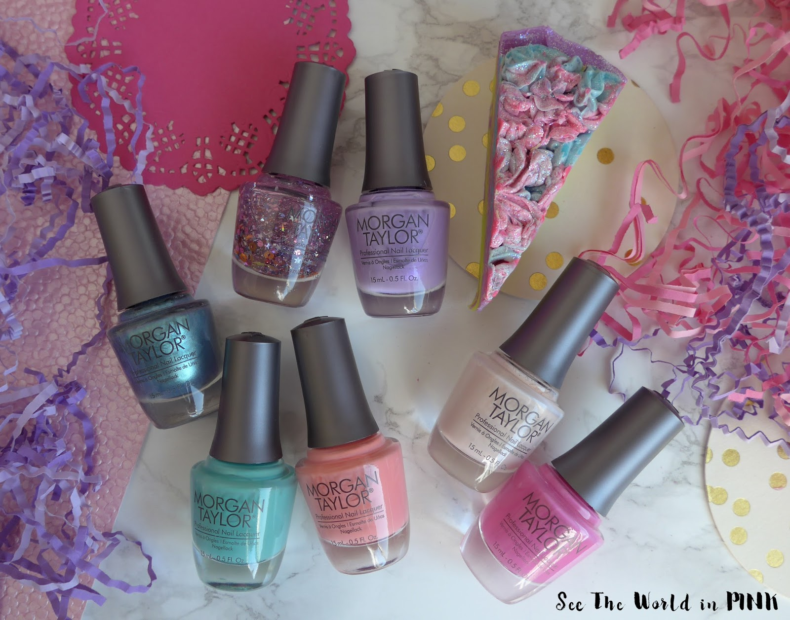 Manicure Monday - Morgan Taylor's Royal Temptations Spring 2018 Collection!