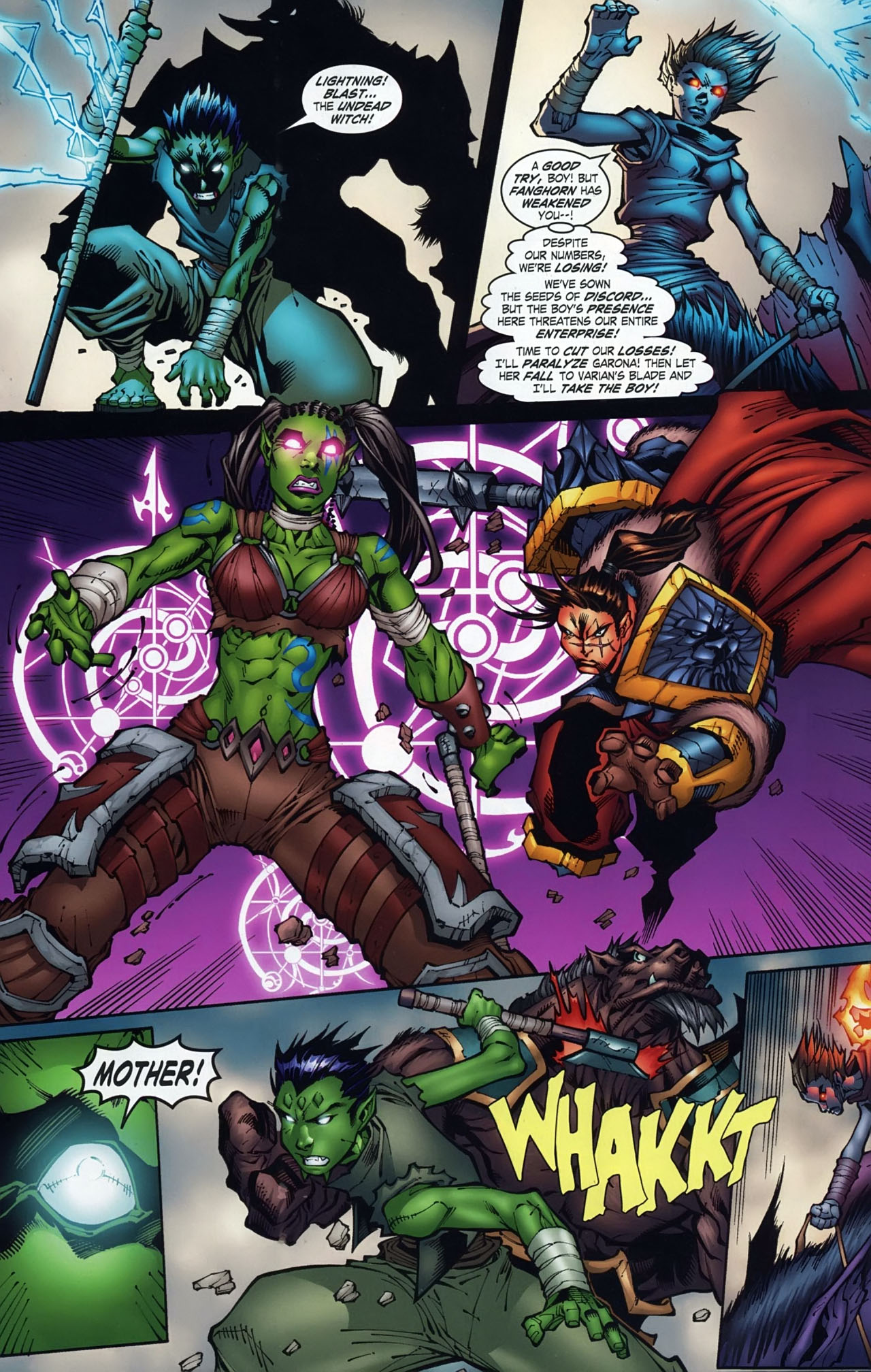 Read online World of Warcraft comic -  Issue #18 - 10