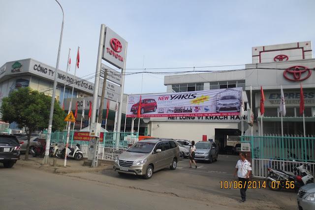 Cty Toyota Hung Vuong TPHCM - Website kinh doanh chinh thuc anh 1