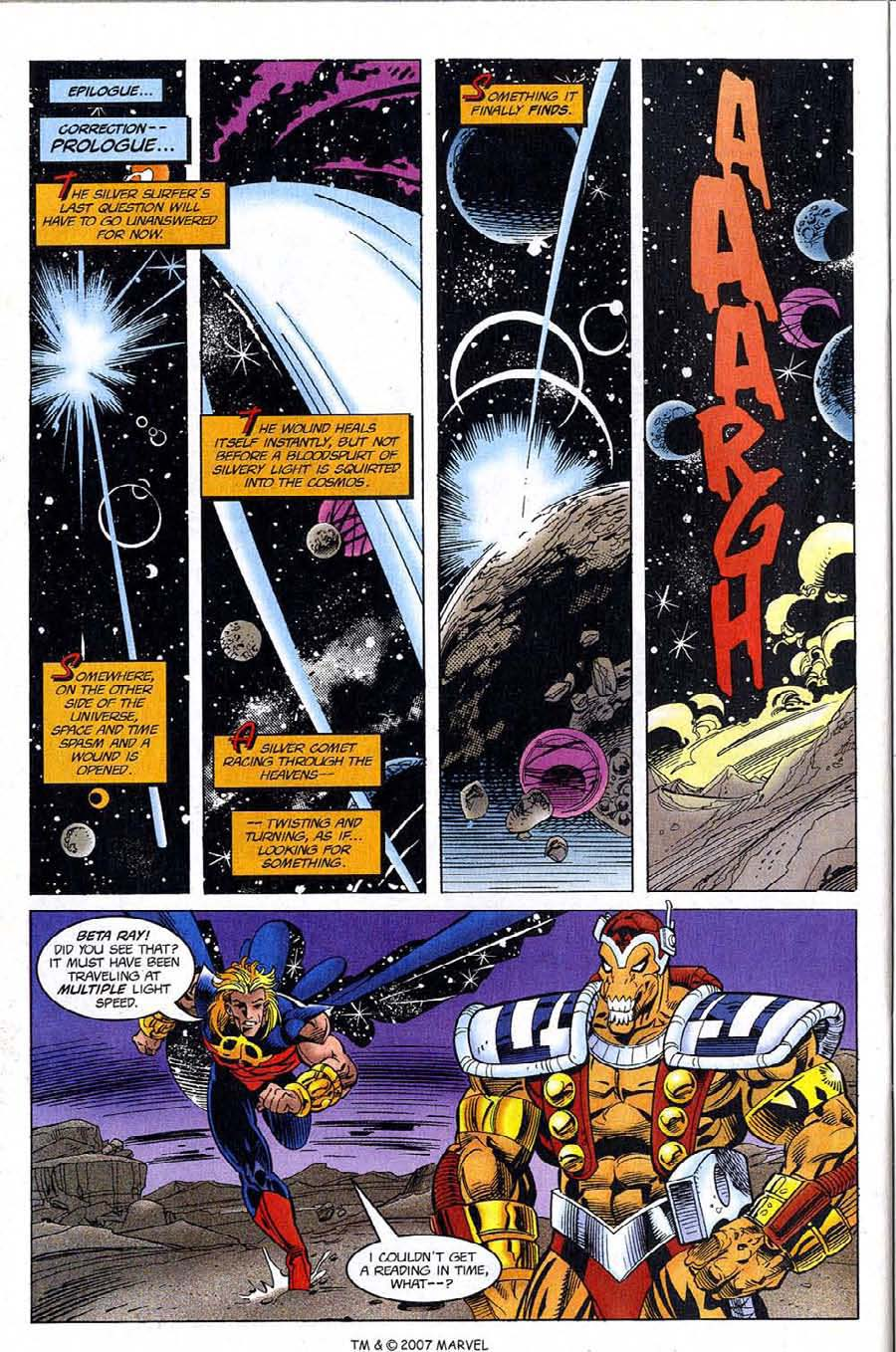 Read online Silver Surfer (1987) comic -  Issue #121 - 32
