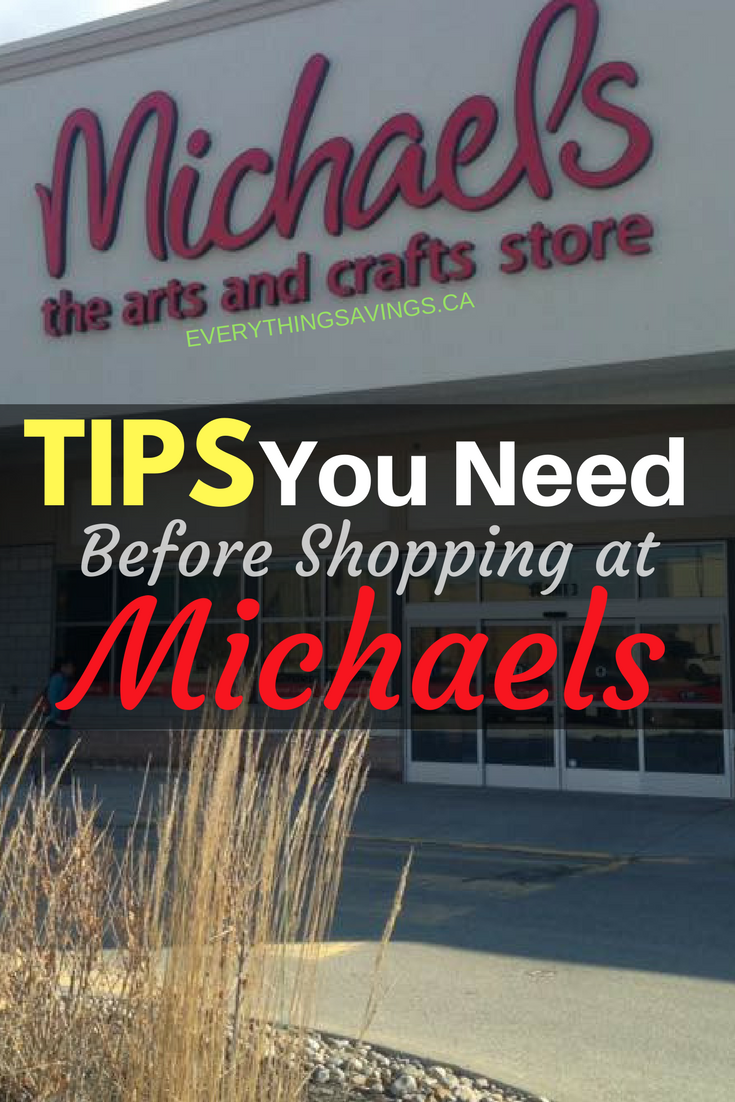 Tips For Saving Money At Michaels Craft Stores