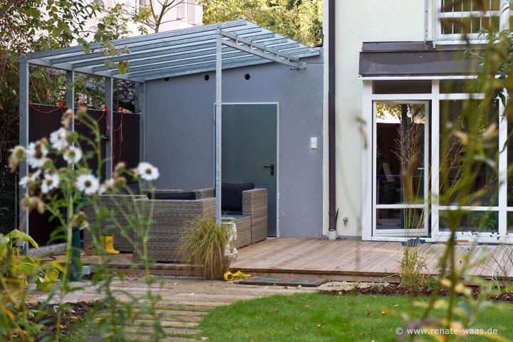 Gartenblog geniesser garten pavillon pergola freisitz for Doppelhaus garten gestalten