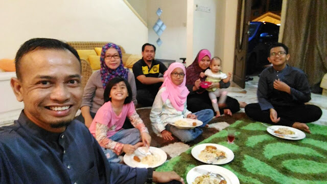 Raya Bersama Rakan Blogger Bandar Tasik Puteri, Rawang