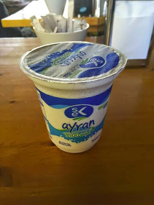 vasetto di yogurt salato ayran
