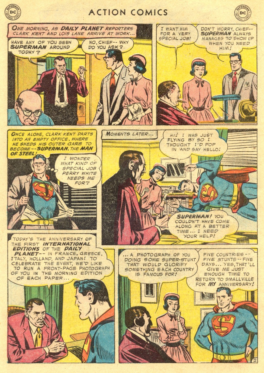 Action Comics (1938) 211 Page 3
