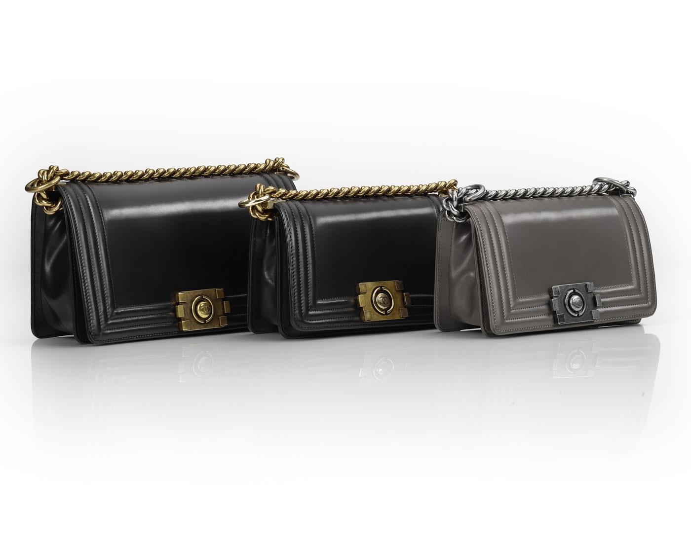 9fb095b85b70 Chanel Boy Bag Collection Fall 2011