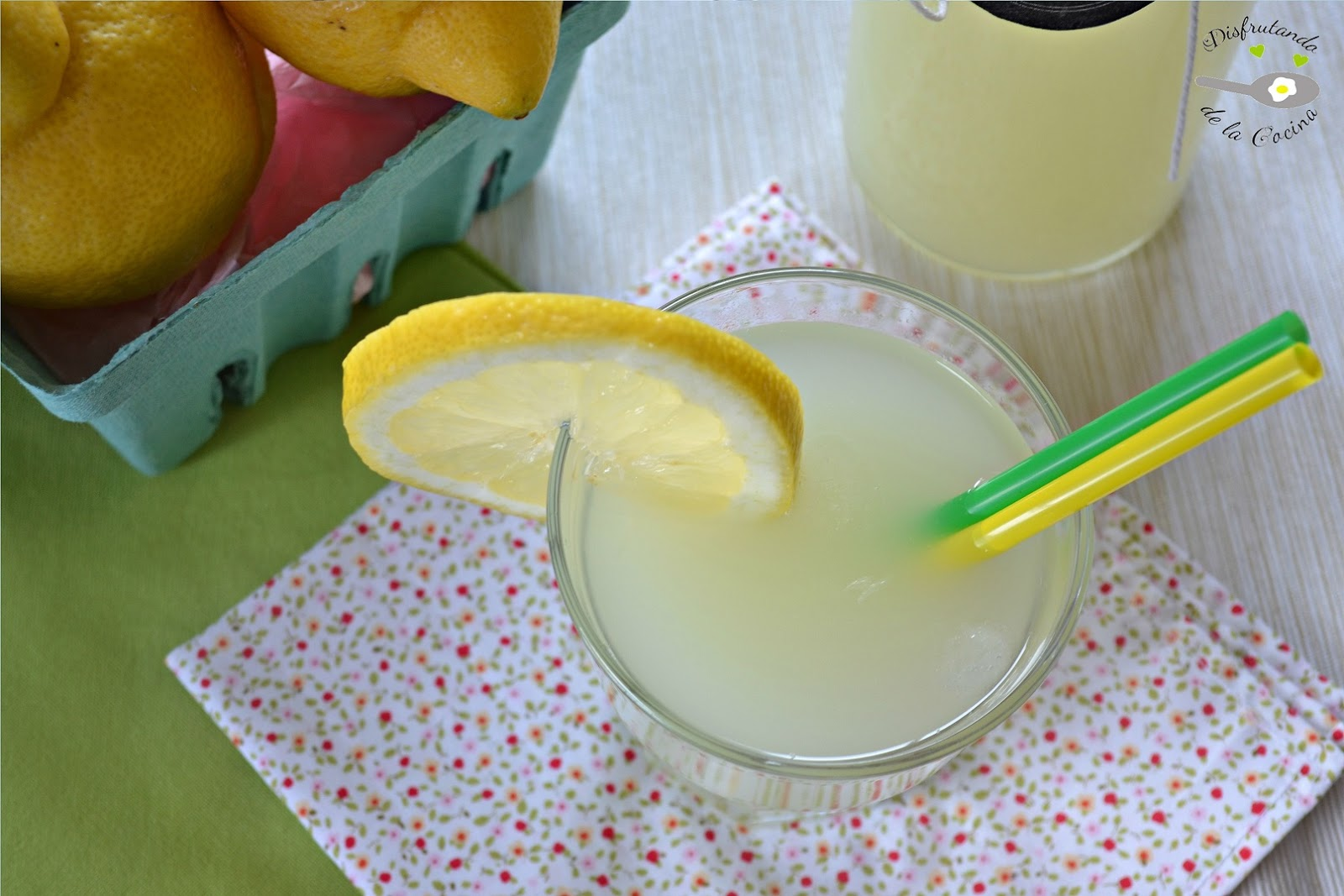 Limonada casera (Receta fácil)