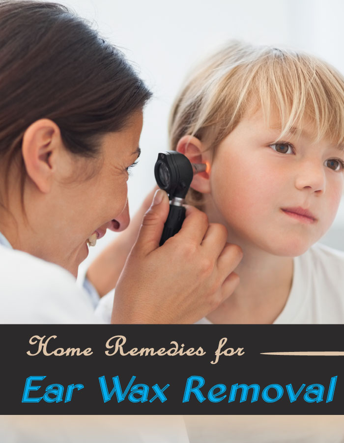 Home Remedies for Ear Wax Removal