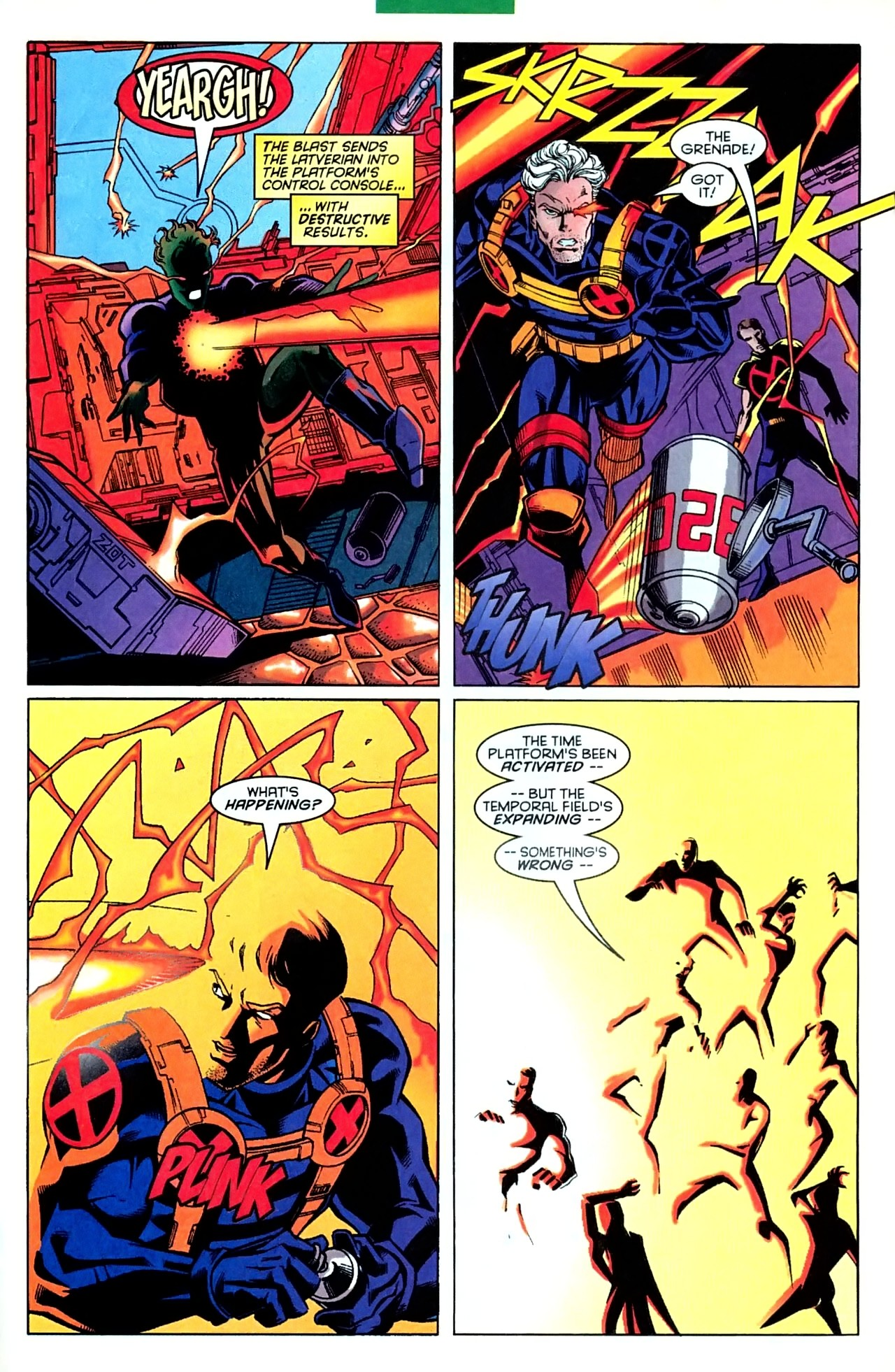 Read online X-Force (1991) comic -  Issue #63 - 31
