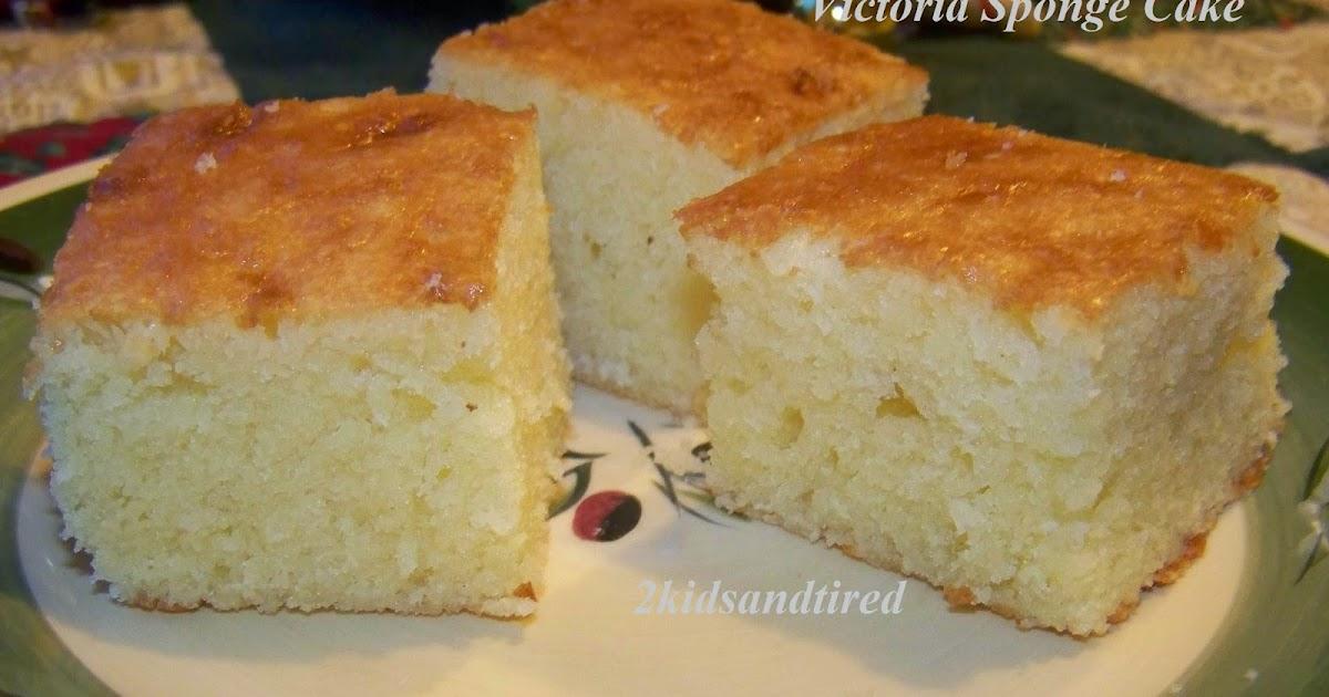 Plain Sponge Cake Recipe Bbc