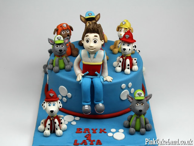 Children cakes Paw Patrol London