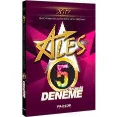 Filozof Yayıncılık ALES Çözümlü 5 Deneme (2017)