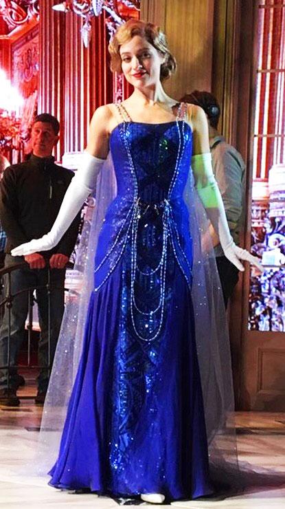 Vestido Azul do Musical Anastasia