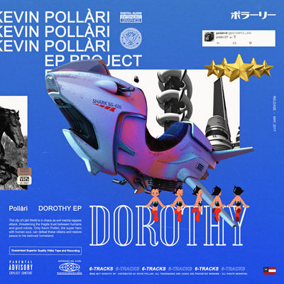 Pollari - Dorothy (EP) - Album Download, Itunes Cover, Official Cover, Album CD Cover Art, Tracklist