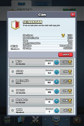 bergabung clan di clash royale