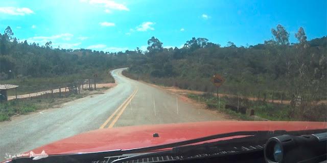 Alvorada de Minas, Serro, Caminho dos Diamantes, Estrada Real