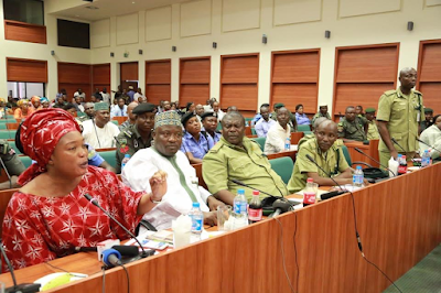 Prison boss appears before House of Rep members over alleged assault of female lawmaker by a prison official (See Photos)