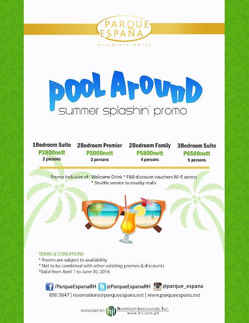 Parque Espana Summer Promo