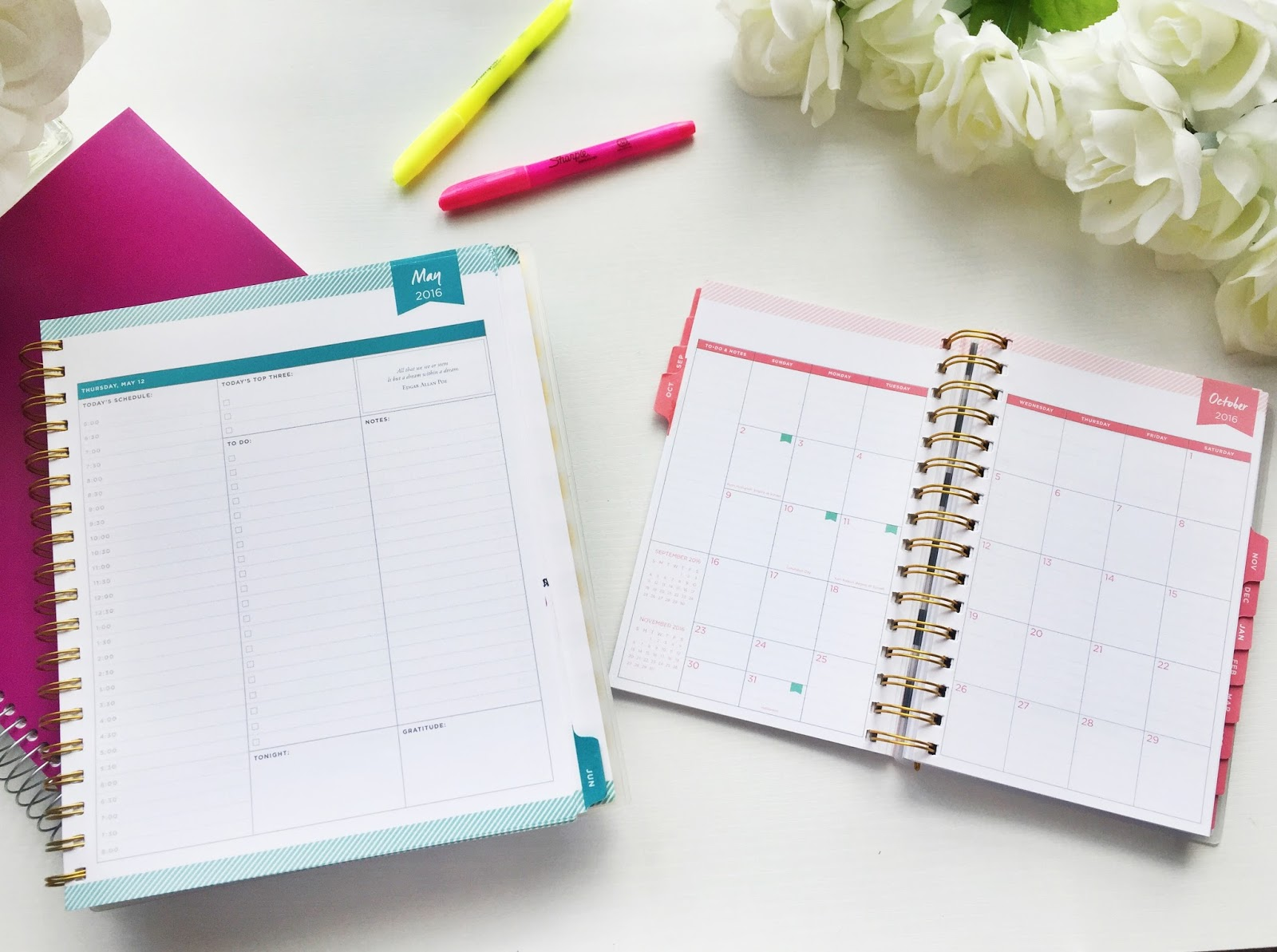 the best planners for college students being heather