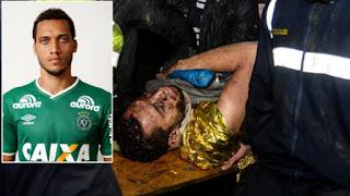 Helio Neto, Chapecoense, Brazil soccer player, plane crash