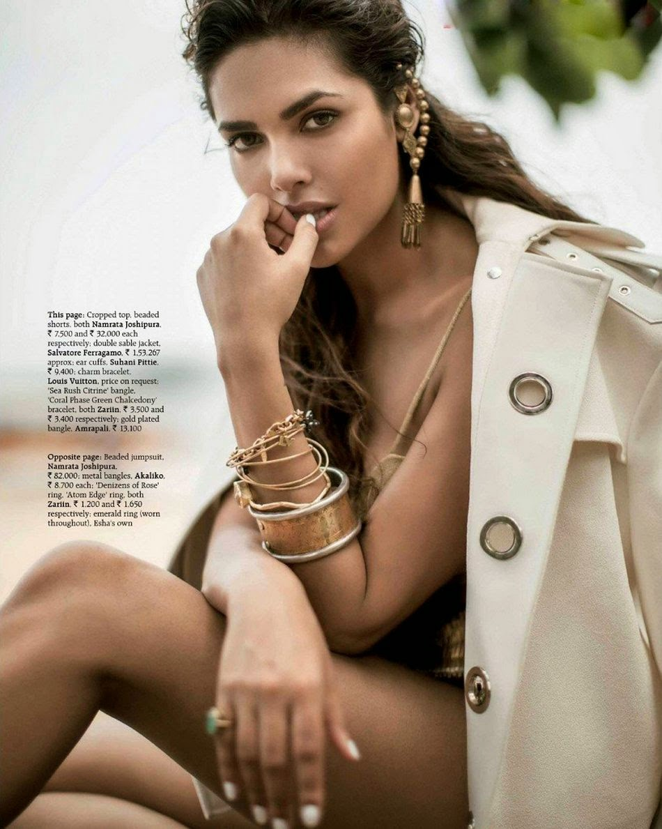 Latest Sexy Hot Pics of Esha Gupta 2014 gallery spicy wallpapers download free