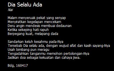 Aneka Ragam Puisi Pendek