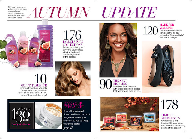 Autumn Update. Shop Avon Campaign 21 >>>
