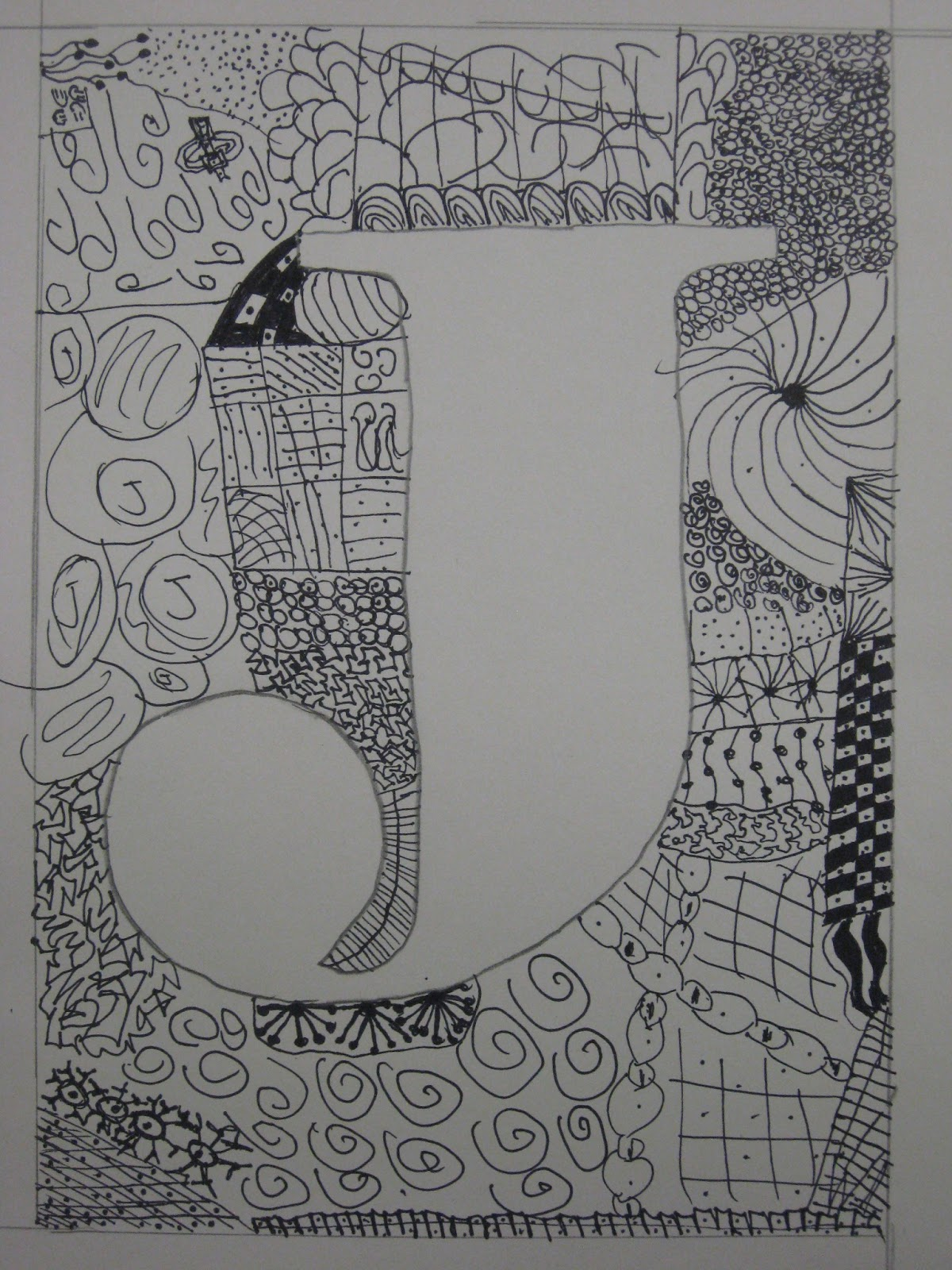 Miss Young S Art Room 5th Grade Zentangles