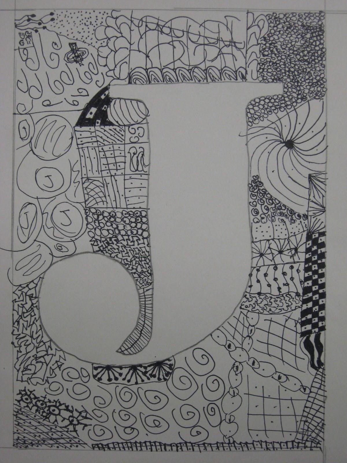Miss Young S Art Room 5th Grade Zentangles