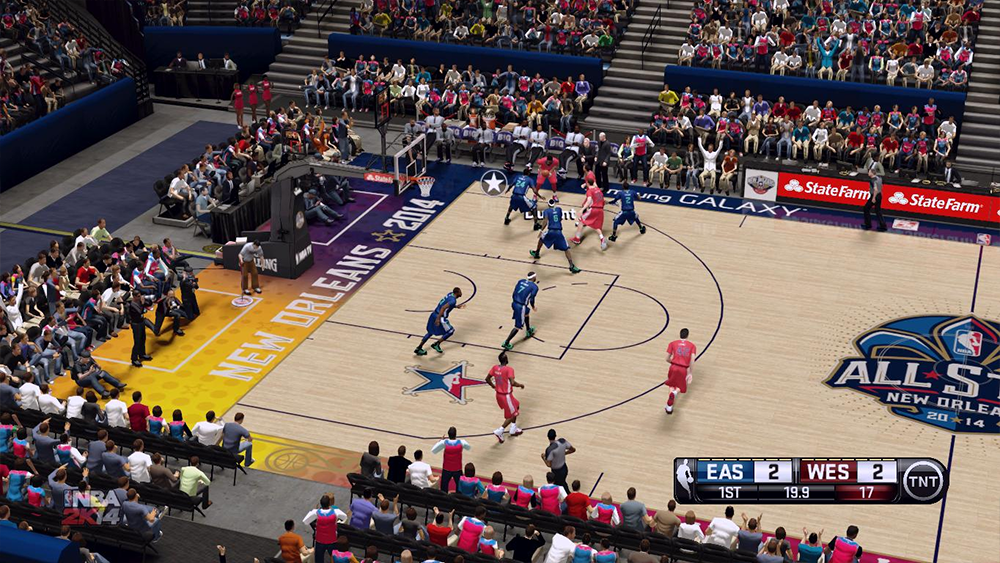 NBA 2K14 All-Star Game 2014 Court Patch