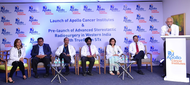 Launch of Apollo Cancer Institutes and Pre-Launch of Advanced Stereotactic Radiosurgery in Western India with TrueBeam STx
