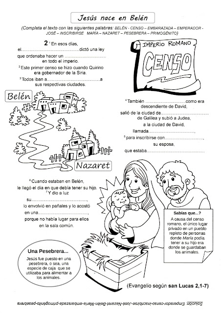 La Catequesis (El blog de Sandra): Recursos Catequesis Navidad
